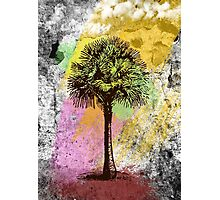 Grunge Palm Tree T-Shirt - Art Prints - Stickers Notebooks Photographic Print