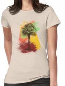 Grunge Palm Tree T-Shirt - Art Prints - Stickers Notebooks T-Shirt