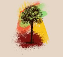 Grunge Palm Tree T-Shirt - Art Prints - Stickers Notebooks Women's Relaxed Fit T-Shirt