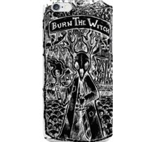 Burn the Witch - The Gallows - Inverted  iPhone Case/Skin