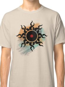 Love Vinyl Records - Music Art Prints with Grunge Texture - T-Shirt and Stickers Classic T-Shirt