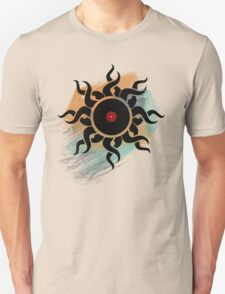 Love Vinyl Records - Music Art Prints with Grunge Texture - T-Shirt and Stickers Unisex T-Shirt