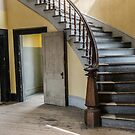 Curving Staircase in a Haunted Hotel by Sue Smith