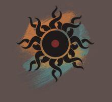 Retro Vinyl Records - Vinyl With Paint - Music DJ Design One Piece - Short Sleeve