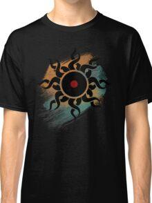 Retro Vinyl Records - Vinyl With Paint - Music DJ Design Classic T-Shirt