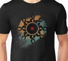 Retro Vinyl Records - Vinyl With Paint - Music DJ Design Unisex T-Shirt