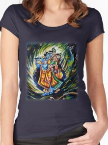 Divine Dance Women's Fitted Scoop T-Shirt