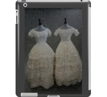 White Muslin iPad Case/Skin