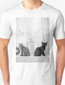 Young Cats Buddy, Back to Back Unisex T-Shirt