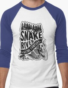 Snake River Guide Co. Men's Baseball ¾ T-Shirt