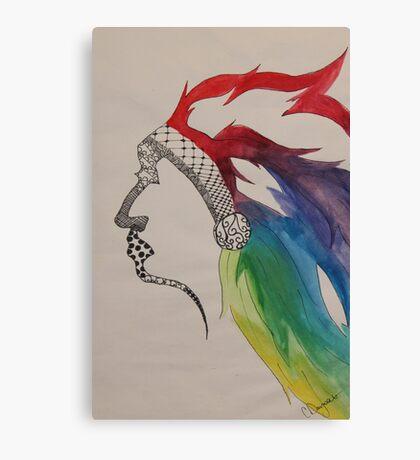 Rainbow Chief Canvas Print