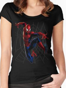 Spider-Man WEB Women's Fitted Scoop T-Shirt