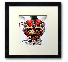 street fighter v best game 2016 nakula Framed Print