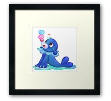 Popplio - PKMN Sun & Moon  Framed Print