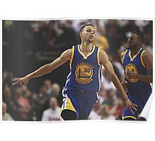 Stephen Curry - Golden State Warriors Poster