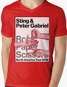 rock paper scissors tour 2016 didit Mens V-Neck T-Shirt