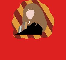 Hermione with Gryffindor colors Womens Fitted T-Shirt