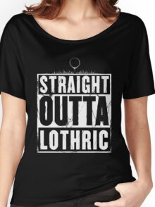 Straight Outta Lothric Women's Relaxed Fit T-Shirt