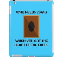Heart of the cards iPad Case/Skin