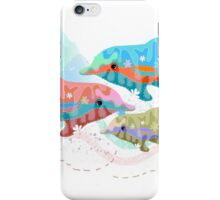 Camouflage Dolphins iPhone Case/Skin