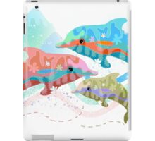 Camouflage Dolphins iPad Case/Skin