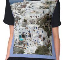 Santorini -  Oia Chiffon Top