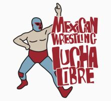 mexican wrestling lucha libre color5 One Piece - Long Sleeve