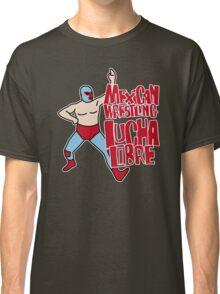 mexican wrestling lucha libre color5 Classic T-Shirt