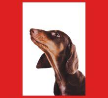 Cute little dachshund puppy dog One Piece - Short Sleeve