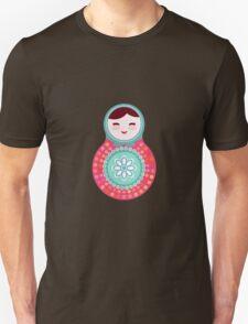 Pink and green matryoshka doll T-Shirt