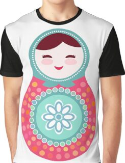 Pink and green matryoshka doll Graphic T-Shirt