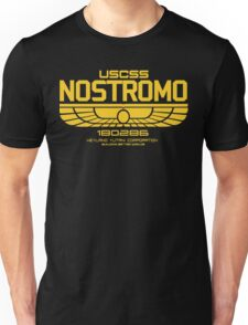 USCSS Nostromo Logo Alien Movie T-shirt Unisex T-Shirt
