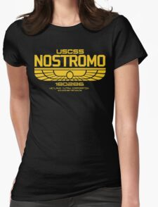 USCSS Nostromo Logo Alien Movie T-shirt Womens Fitted T-Shirt