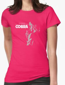 Space Adventure Cobra Japan Retro Anime Manga Womens Fitted T-Shirt