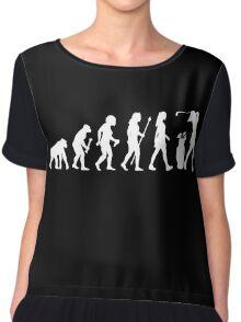Funny Women's Golf Shirt Chiffon Top