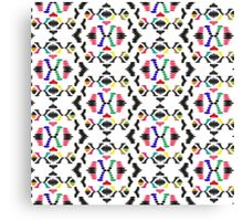 Coloured Abstract Pattern Canvas Print