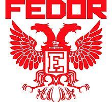 Fedor Emelianenko Last Emperor MMA Photographic Print