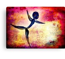 Dance Like You Are Flying... Canvas Print