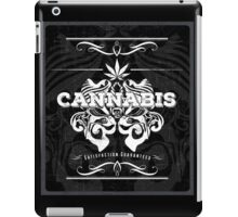 Cannabis Art Deco Retro Design iPad Case/Skin