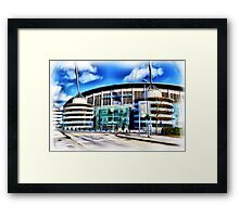 The Etihad Stadium Framed Print