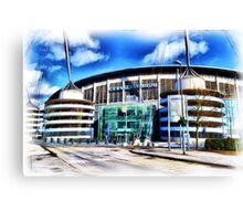The Etihad Stadium Canvas Print