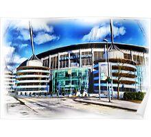 The Etihad Stadium Poster