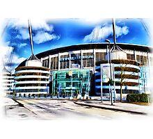 The Etihad Stadium Photographic Print
