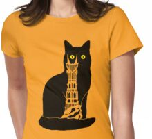 Cat's Eye Of Sauron Womens Fitted T-Shirt