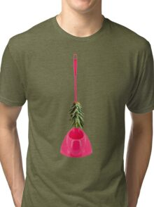Brush Pineapple Tri-blend T-Shirt