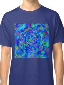 Blue Pond Ripple Classic T-Shirt