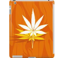 Marijuana and Cannabis Leaf Illustration iPad Case/Skin