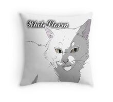 WhiteStorm, Warriors Realistic  Throw Pillow