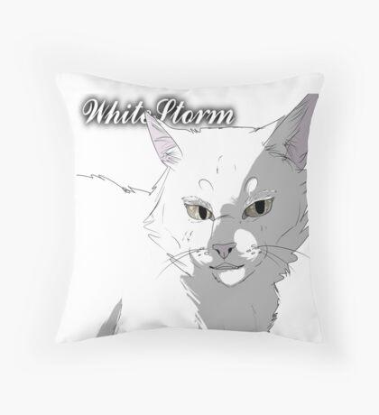 WhiteStorm, Warriors Realistic  Throw Pillow