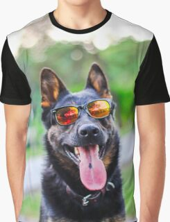 Agent Pup Pup Graphic T-Shirt